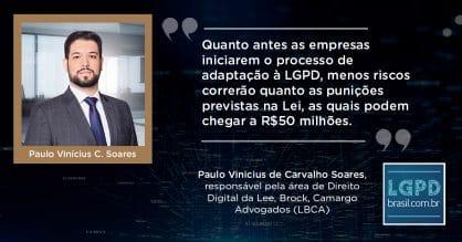 75% dos brasileiros não sabem o que é a Lei Geral de Proteção de Dados