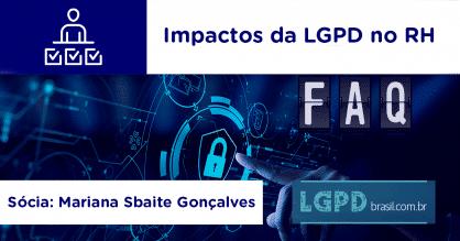 Impactos da LGPD no RH
