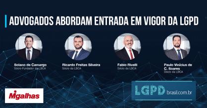 Advogados abordam entrada em vigor da LGPD